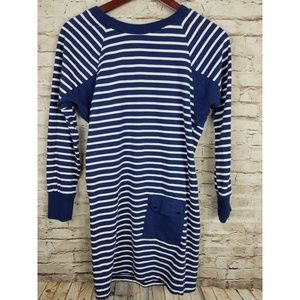 Tommy Girl  Girls dress L/S Cotton Sz Med